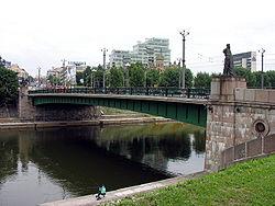 Vilnius. Žaliasis tiltas